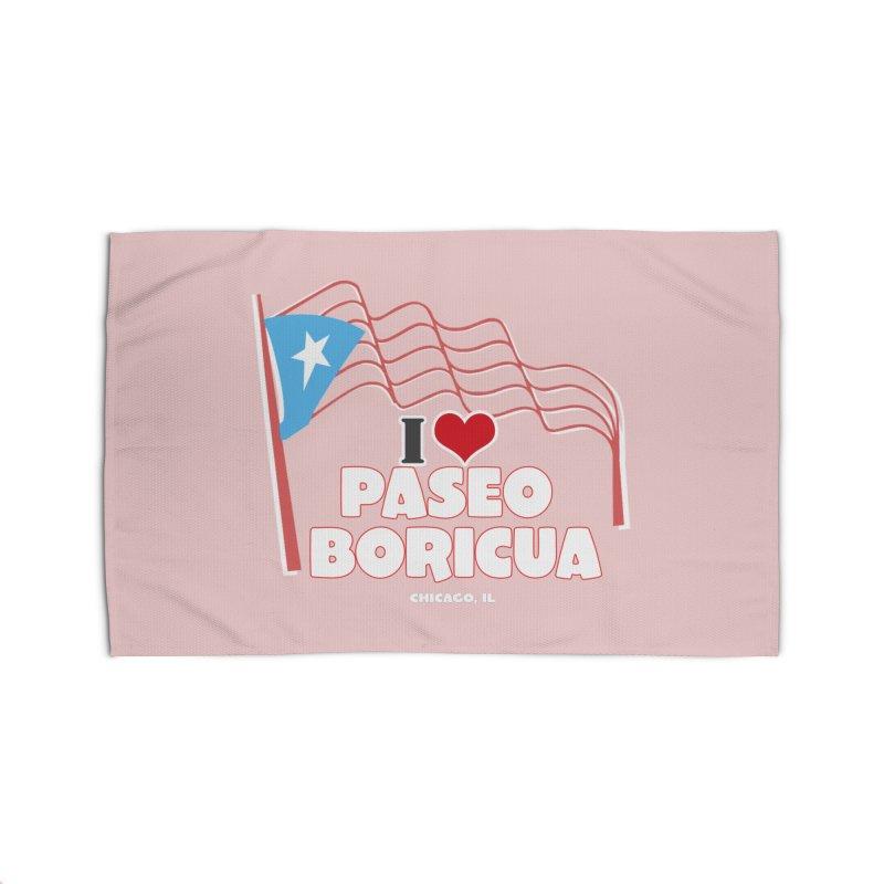 I LOVE PASEO BORICUA Home Rug by PRCC Tiendita