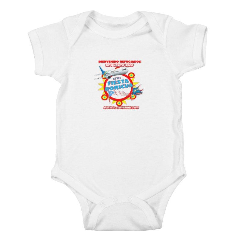 Fiesta Boricua 2018 Kids Baby Bodysuit by PRCC Tiendita