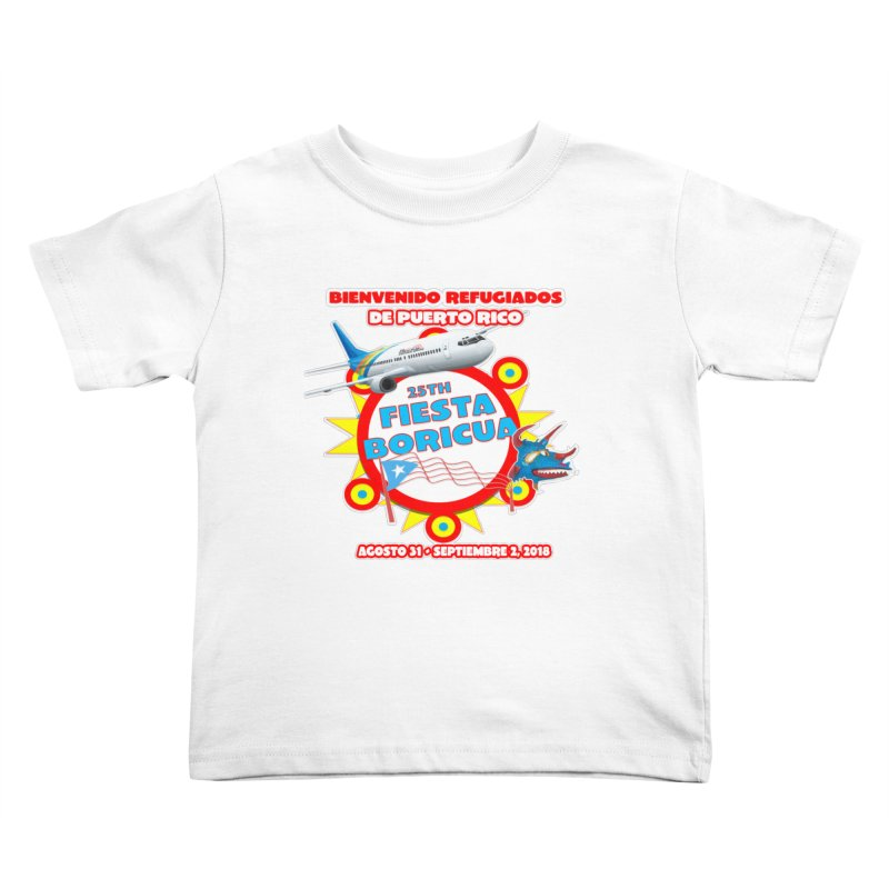 Fiesta Boricua 2018 Kids Toddler T-Shirt by PRCC Tiendita