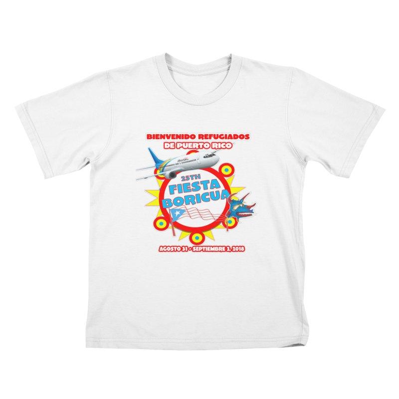 Fiesta Boricua 2018 Kids T-Shirt by PRCC Tiendita