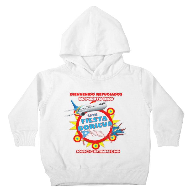 Fiesta Boricua 2018 Kids Toddler Pullover Hoody by PRCC Tiendita