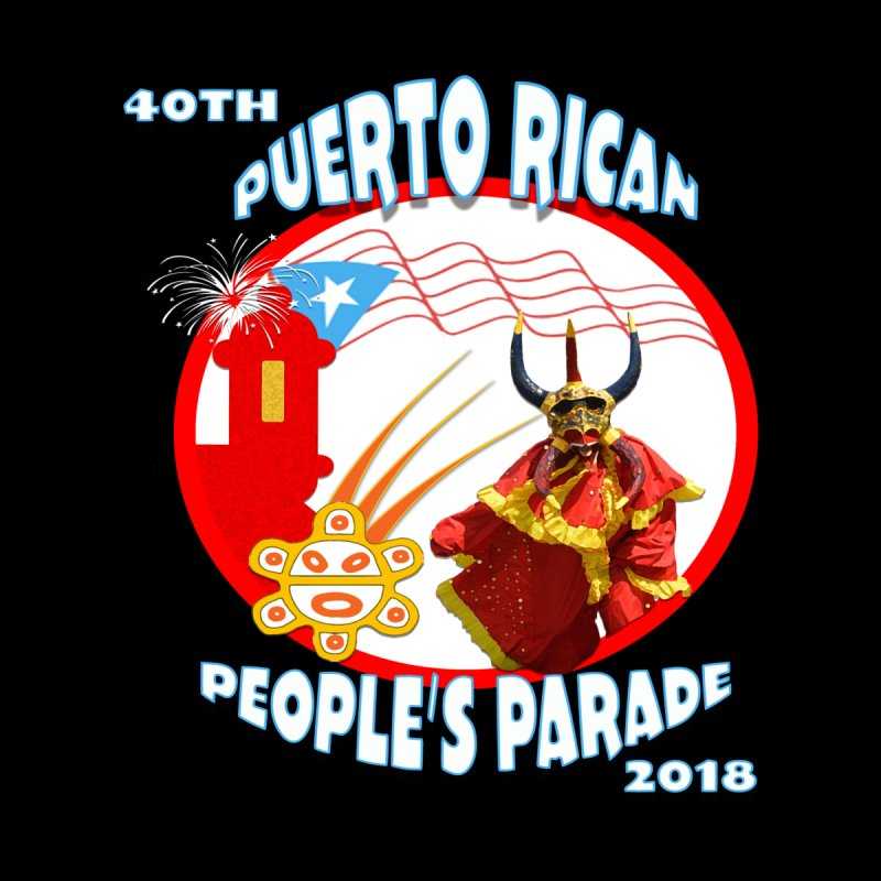 Puerto Rican People's Parade 2018 Home Framed Fine Art Print by PRCC Tiendita