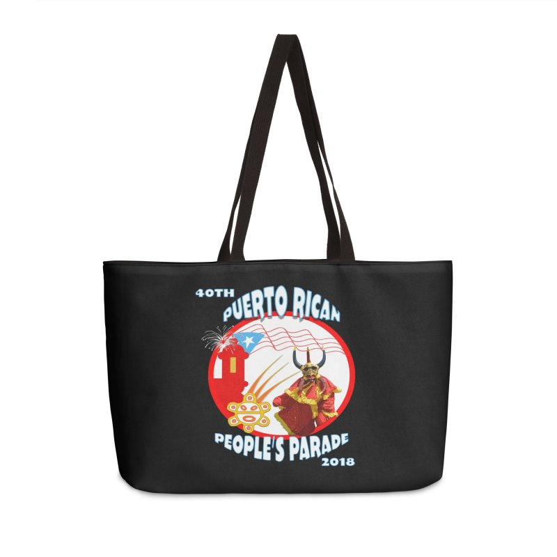 Puerto Rican People's Parade 2018 Accessories Bag by PRCC Tiendita