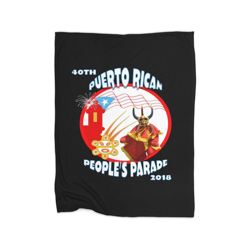 Puerto Rican People's Parade 2018 Home Blanket by PRCC Tiendita
