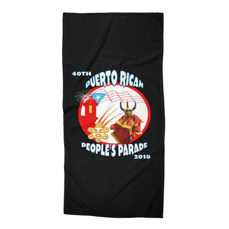 Puerto Rican People's Parade 2018 Accessories Beach Towel by PRCC Tiendita