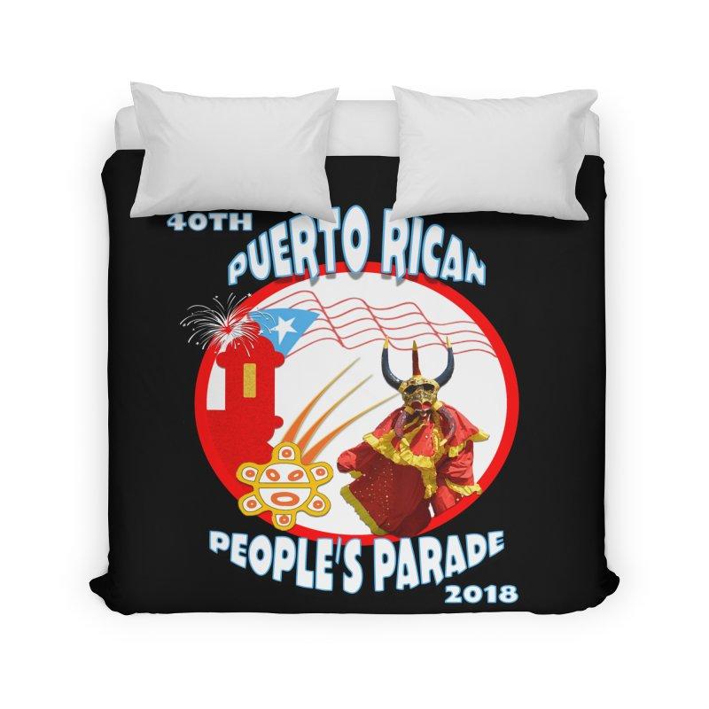 Puerto Rican People's Parade 2018 Home Duvet by PRCC Tiendita