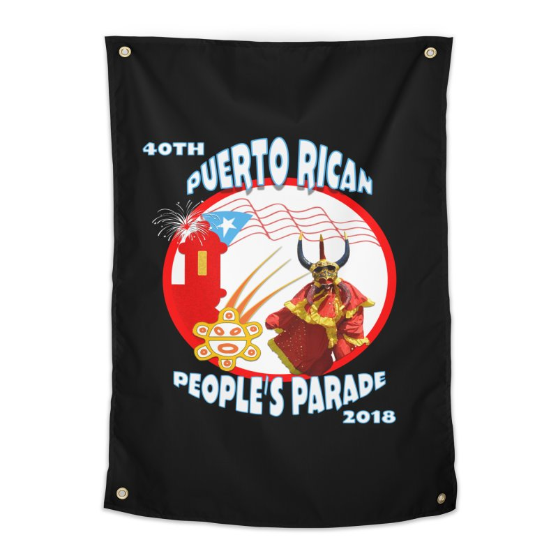 Puerto Rican People's Parade 2018 Home Tapestry by PRCC Tiendita