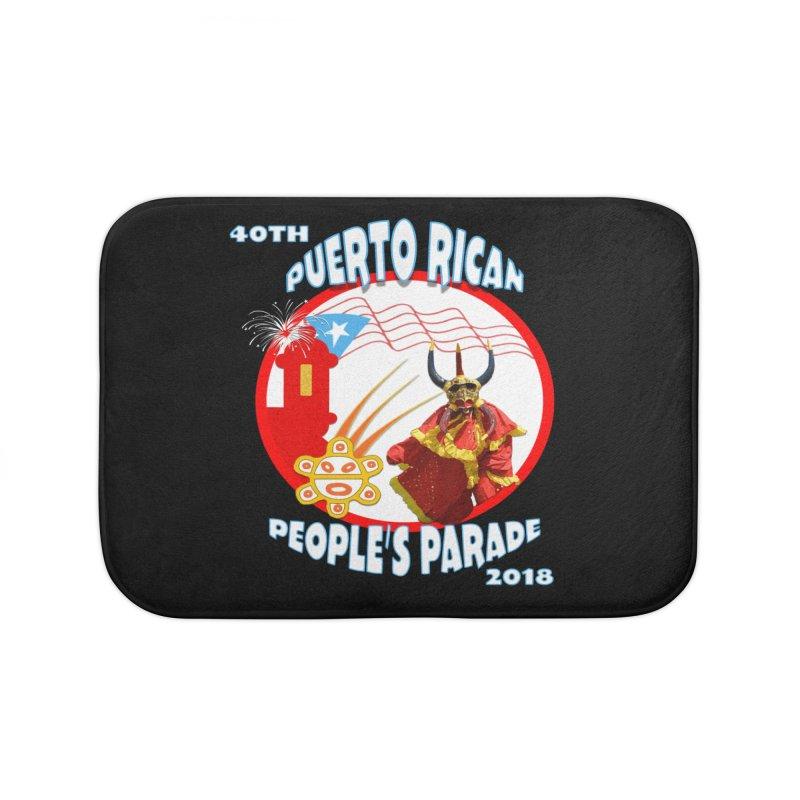 Puerto Rican People's Parade 2018 Home Bath Mat by PRCC Tiendita