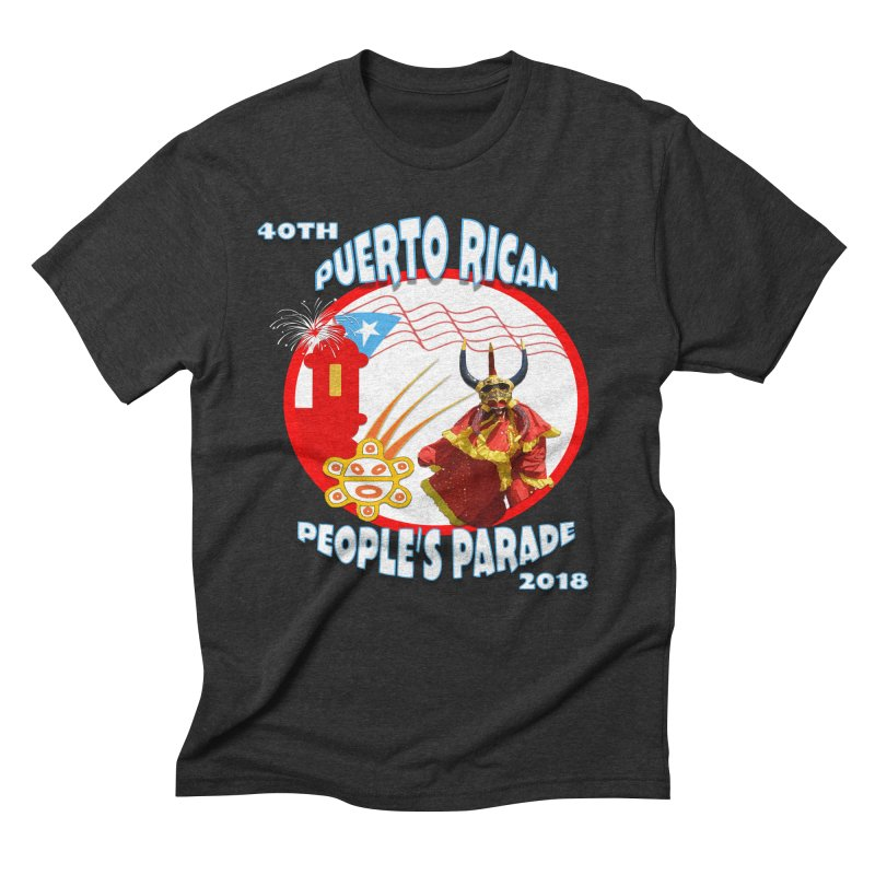 Puerto Rican People's Parade 2018 Men's Triblend T-Shirt by PRCC Tiendita