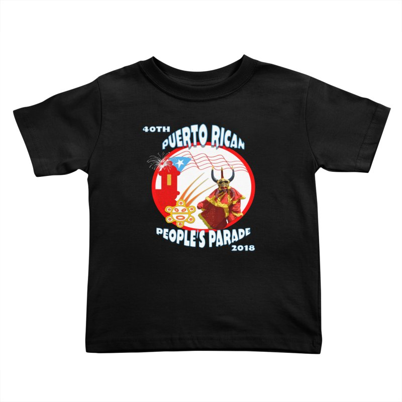 Puerto Rican People's Parade 2018 Kids Toddler T-Shirt by PRCC Tiendita