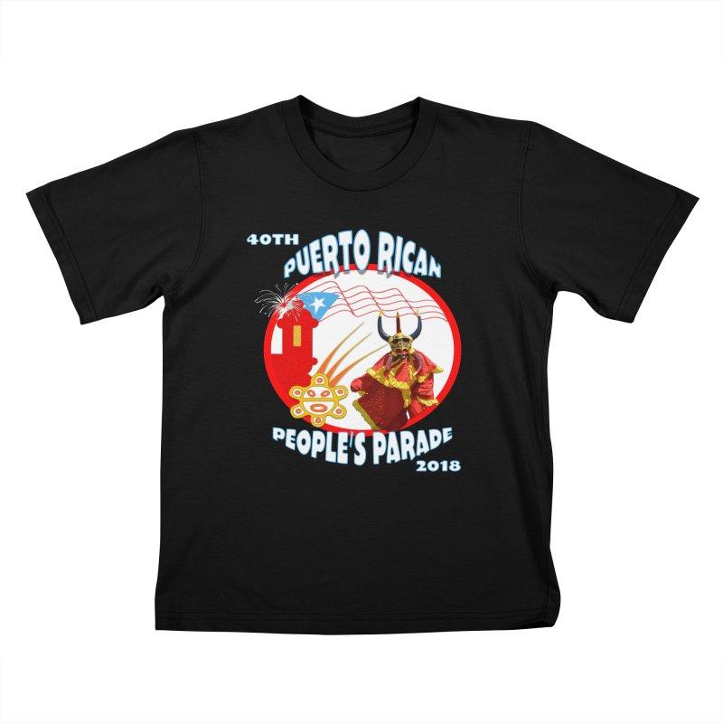 Puerto Rican People's Parade 2018 Kids T-Shirt by PRCC Tiendita