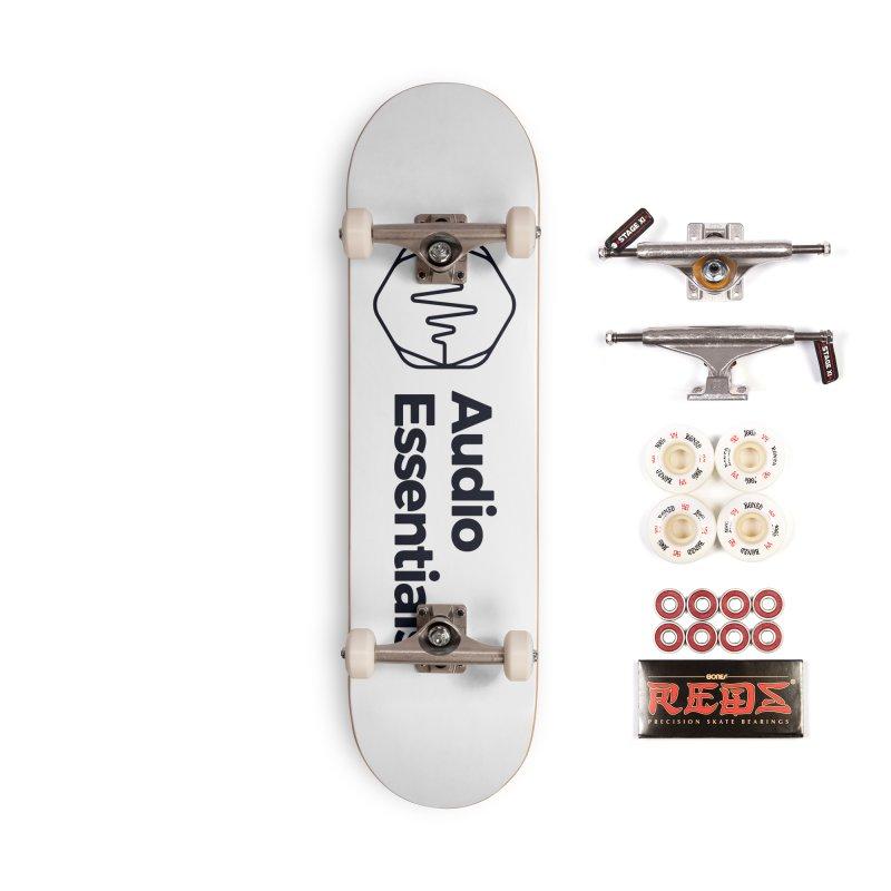 Audio Essentials Black Accessories Complete - Pro Skateboard by Precision Productions Artiste Shop