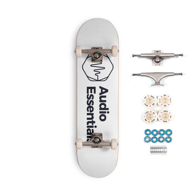Audio Essentials Black Accessories Complete - Premium Skateboard by Precision Productions Artiste Shop