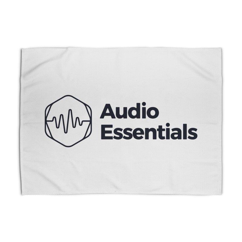 Audio Essentials Black Home Rug by Precision Productions Artiste Shop