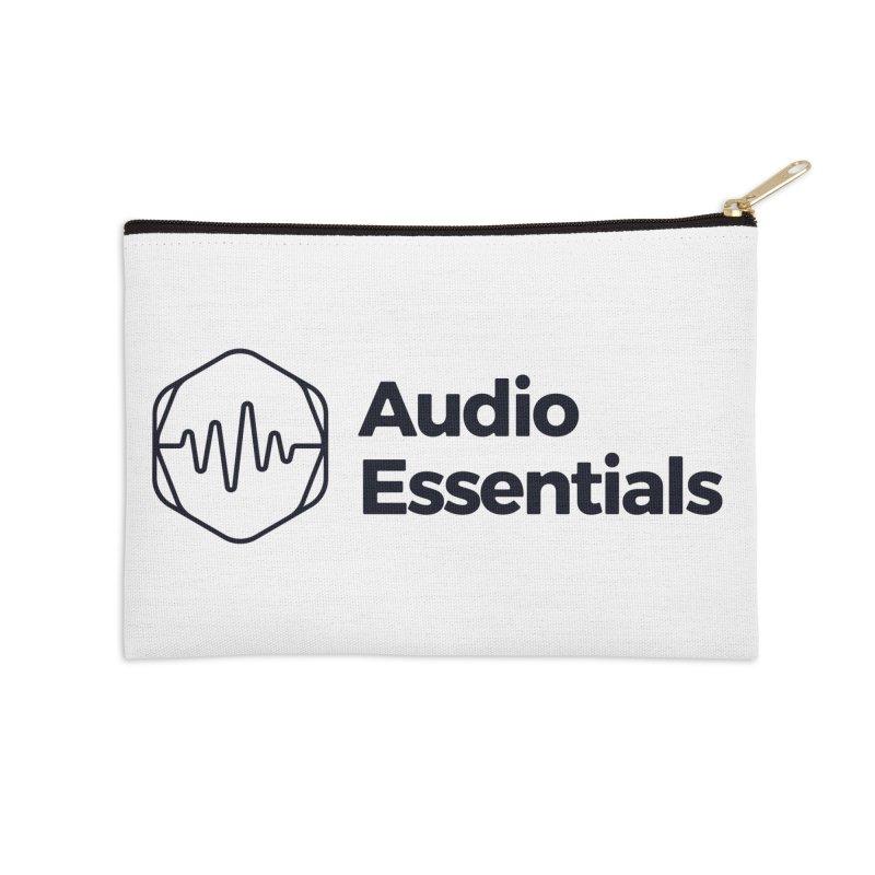 Audio Essentials Black Accessories Zip Pouch by Precision Productions Artiste Shop