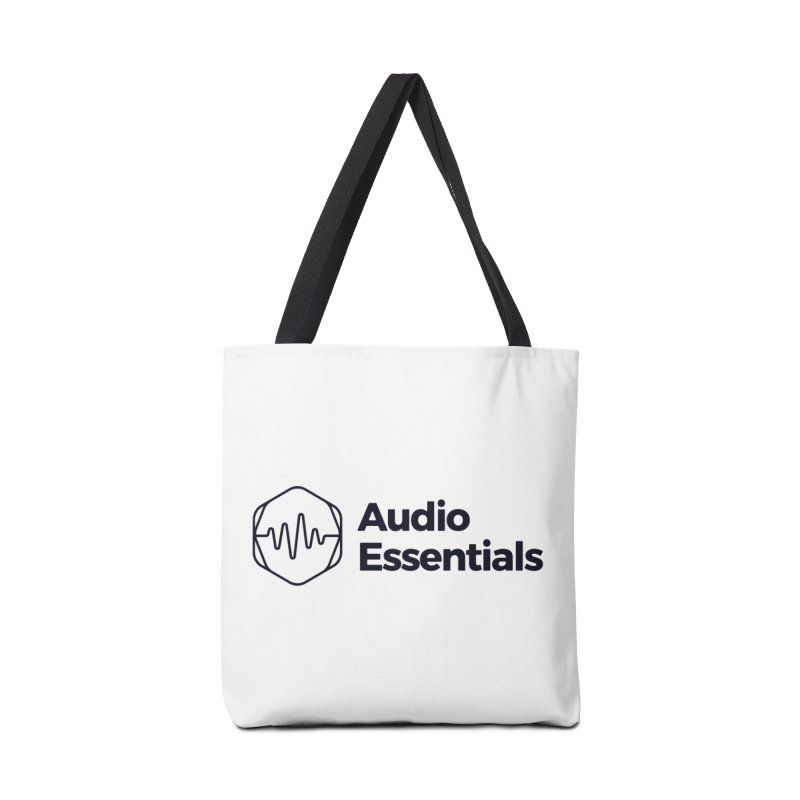 Audio Essentials Black Accessories Bag by Precision Productions Artiste Shop