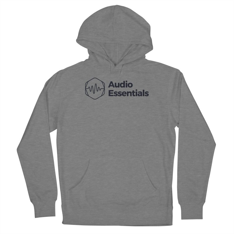 Audio Essentials Black Women's Pullover Hoody by Precision Productions Artiste Shop