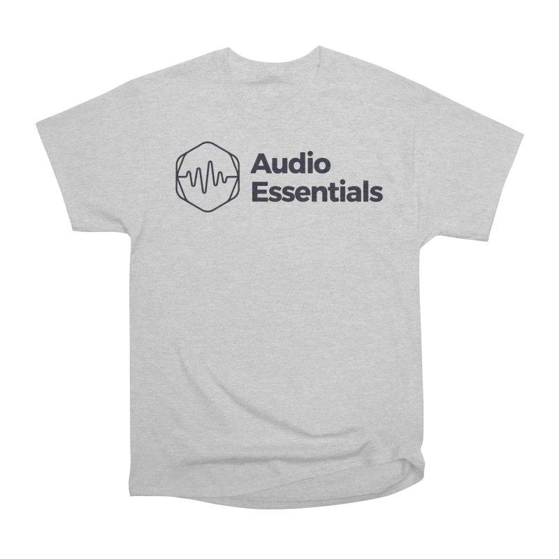 Audio Essentials Black Women's Heavyweight Unisex T-Shirt by Precision Productions Artiste Shop