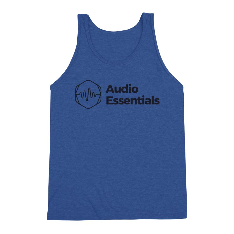 Audio Essentials Black Men's Tank by Precision Productions Artiste Shop