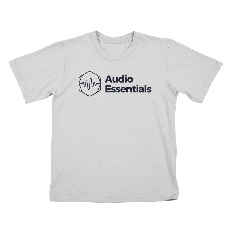 Audio Essentials Black Kids T-Shirt by Precision Productions Artiste Shop