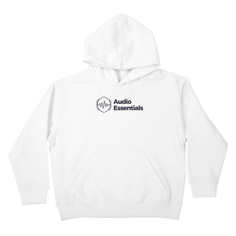 Audio Essentials Black Kids Pullover Hoody by Precision Productions Artiste Shop