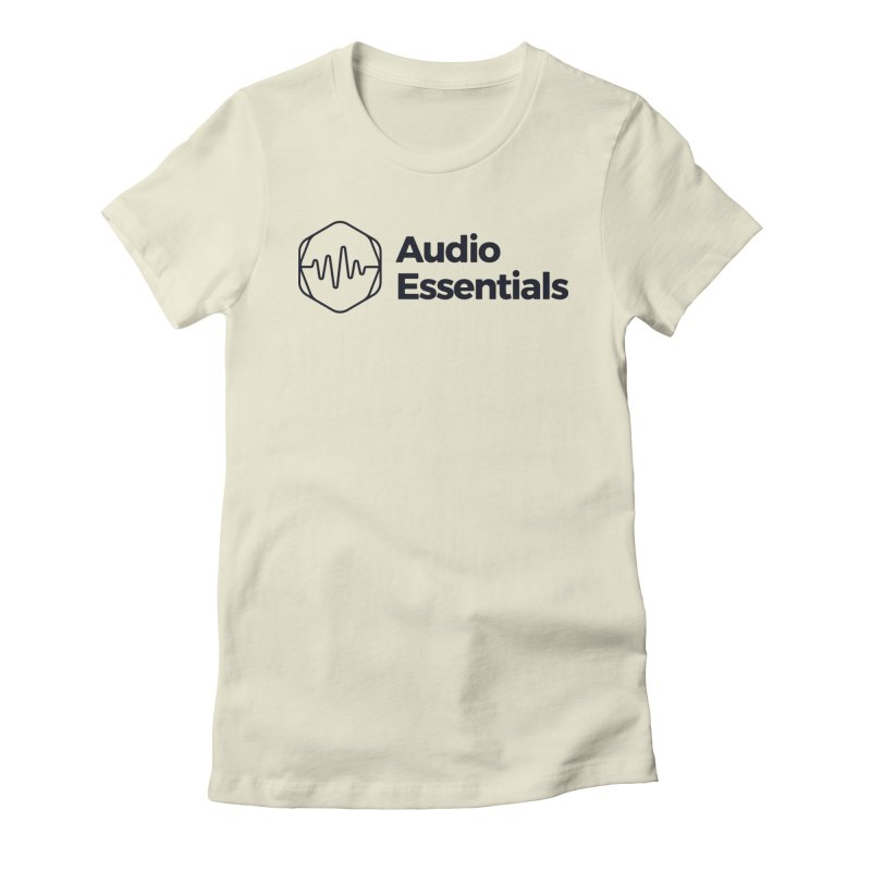 Audio Essentials Black Women's T-Shirt by Precision Productions Artiste Shop