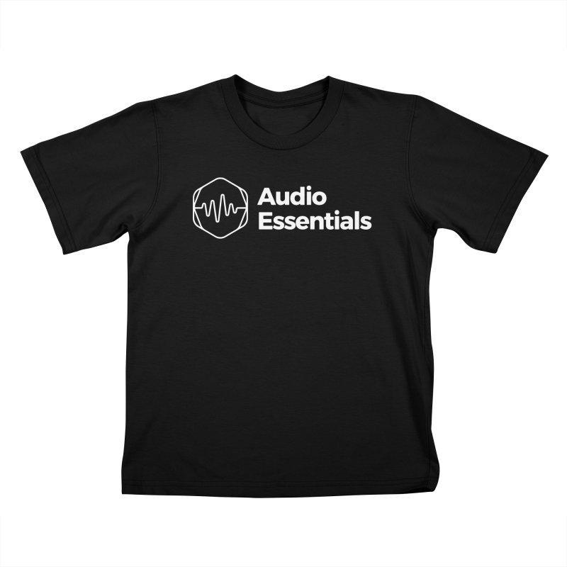 Audio Essentials White Kids T-Shirt by Precision Productions Artiste Shop
