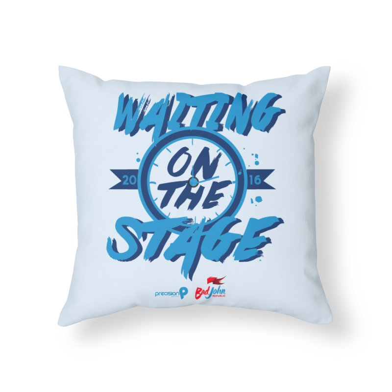 Waiting on the Stage Home Throw Pillow by Precision Productions Artiste Shop