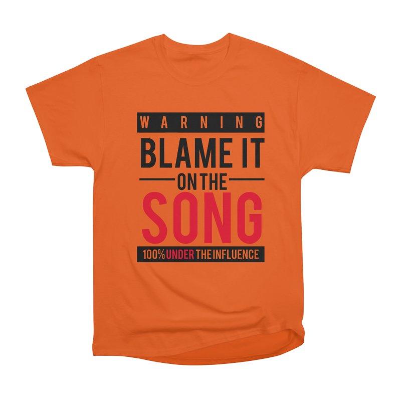 Blame It Men's T-Shirt by Precision Productions Artiste Shop