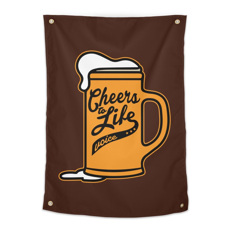Cheers to Life Home Tapestry by Precision Productions Artiste Shop