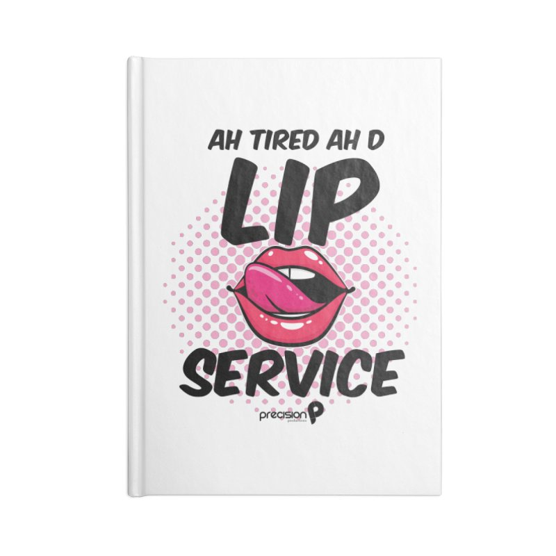 Lip Service Accessories Notebook by Precision Productions Artiste Shop