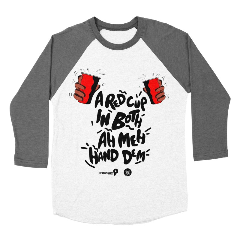 Red Cup Women's Baseball Triblend Longsleeve T-Shirt by Precision Productions Artiste Shop