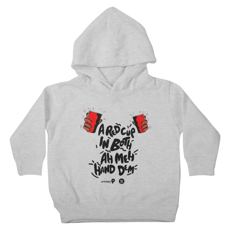 Red Cup Kids Toddler Pullover Hoody by Precision Productions Artiste Shop