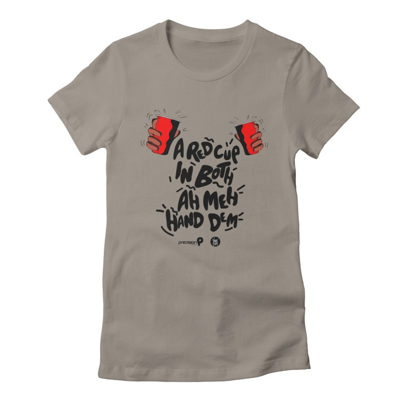 Red Cup Women's T-Shirt by Precision Productions Artiste Shop