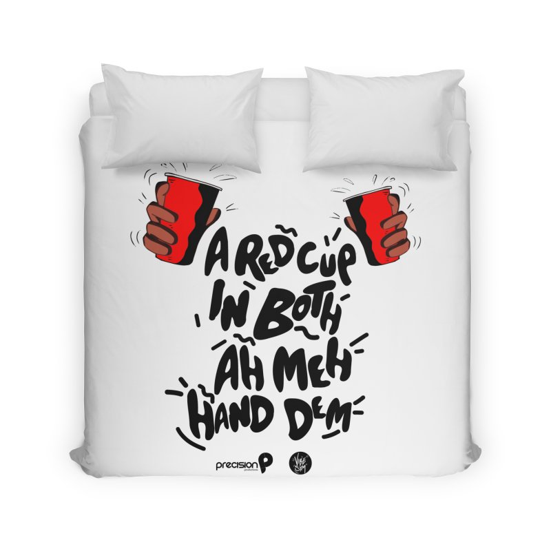 Red Cup Home Duvet by Precision Productions Artiste Shop