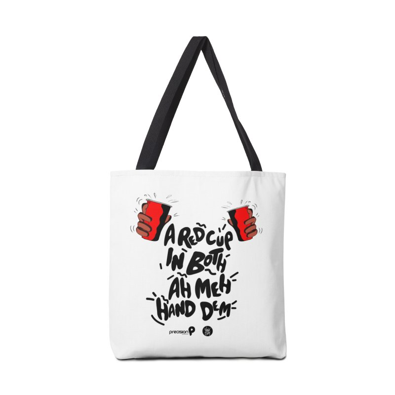 Red Cup Accessories Tote Bag Bag by Precision Productions Artiste Shop