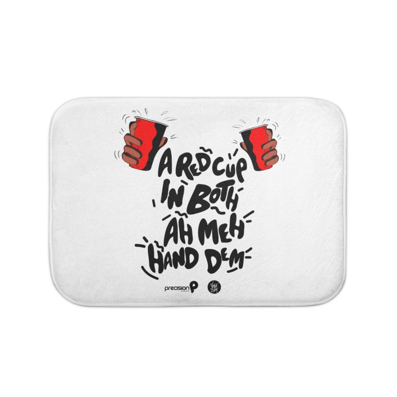 Red Cup Home Bath Mat by Precision Productions Artiste Shop