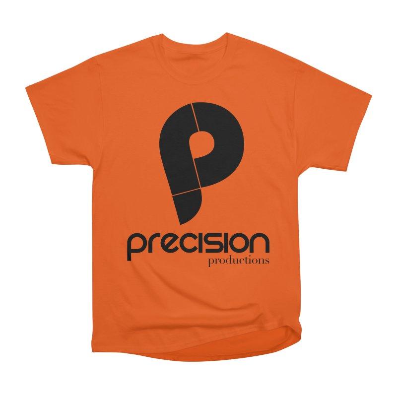 Precision Productions  Men's T-Shirt by Precision Productions Artiste Shop