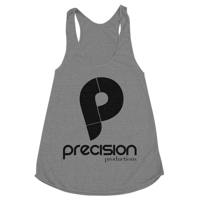 Precision Productions  Women's Racerback Triblend Tank by Precision Productions Artiste Shop