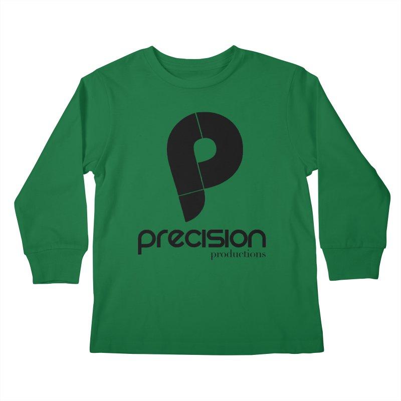Precision Productions  Kids Longsleeve T-Shirt by Precision Productions Artiste Shop