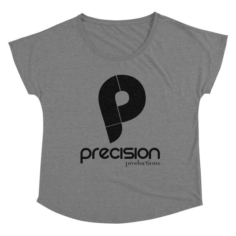 Precision Productions  Women's Scoop Neck by Precision Productions Artiste Shop