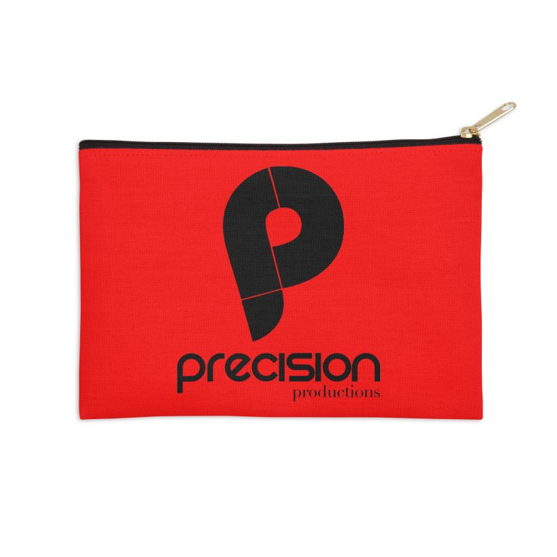 Precision Productions  Accessories Zip Pouch by Precision Productions Artiste Shop