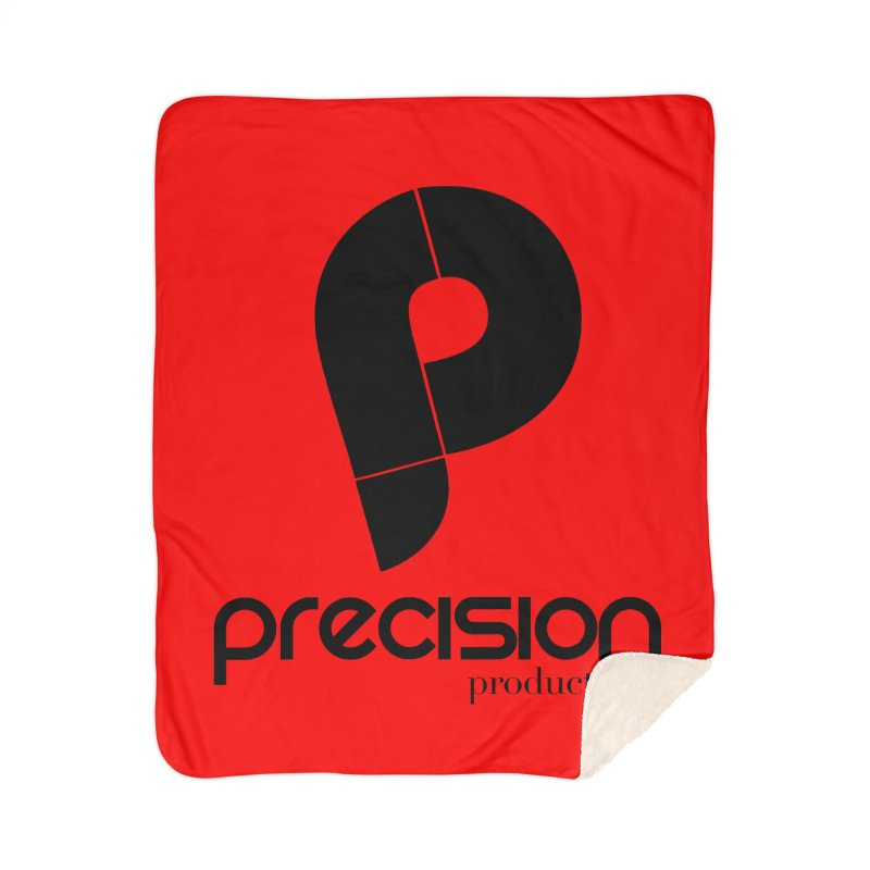 Precision Productions  Home Sherpa Blanket Blanket by Precision Productions Artiste Shop