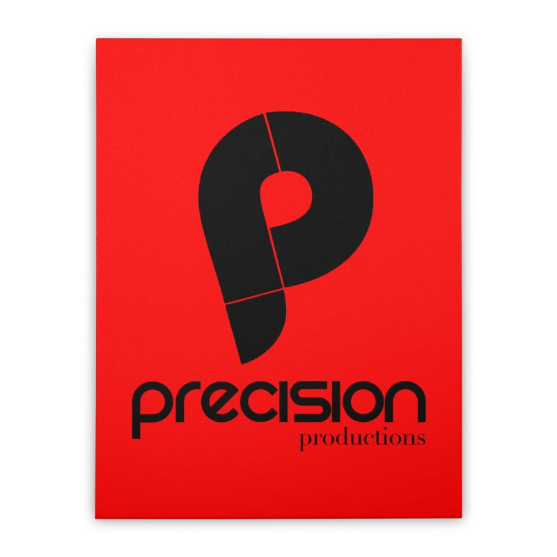 Precision Productions  Home Stretched Canvas by Precision Productions Artiste Shop