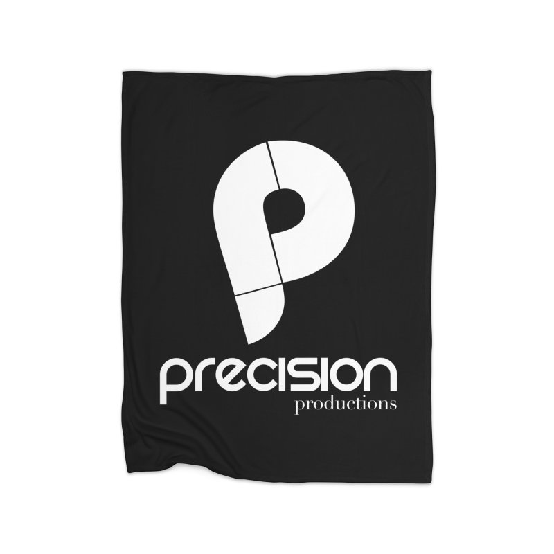 Precision P (white) Home Blanket by Precision Productions Artiste Shop