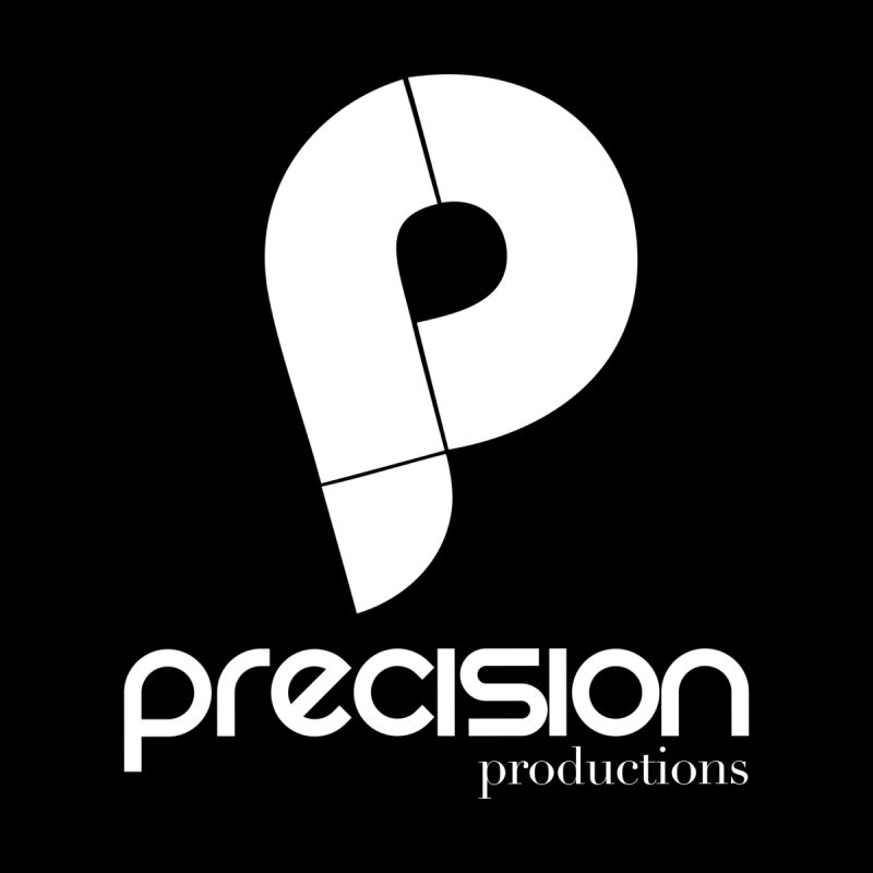 Precision P (white) Men's Sweatshirt by Precision Productions Artiste Shop