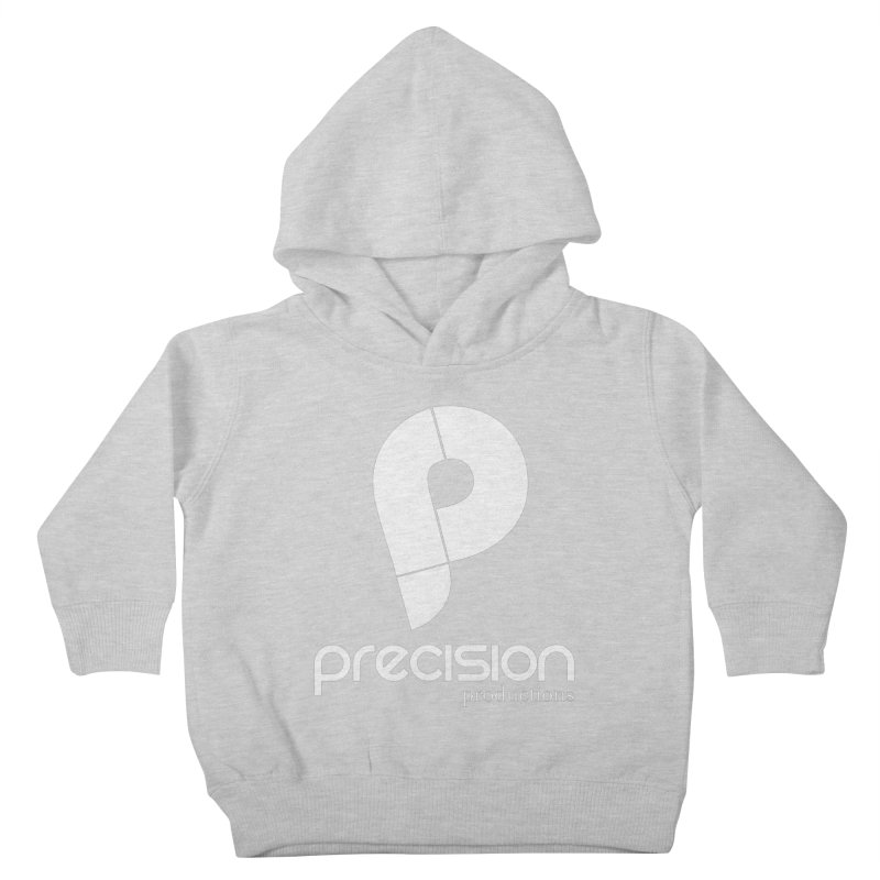 Precision P (white) Kids Toddler Pullover Hoody by Precision Productions Artiste Shop