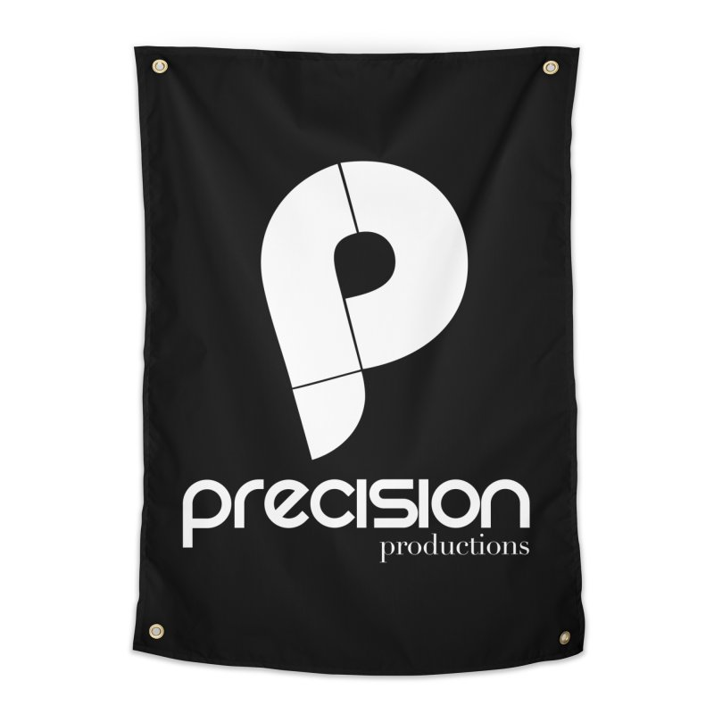 Precision P (white) Home Tapestry by Precision Productions Artiste Shop