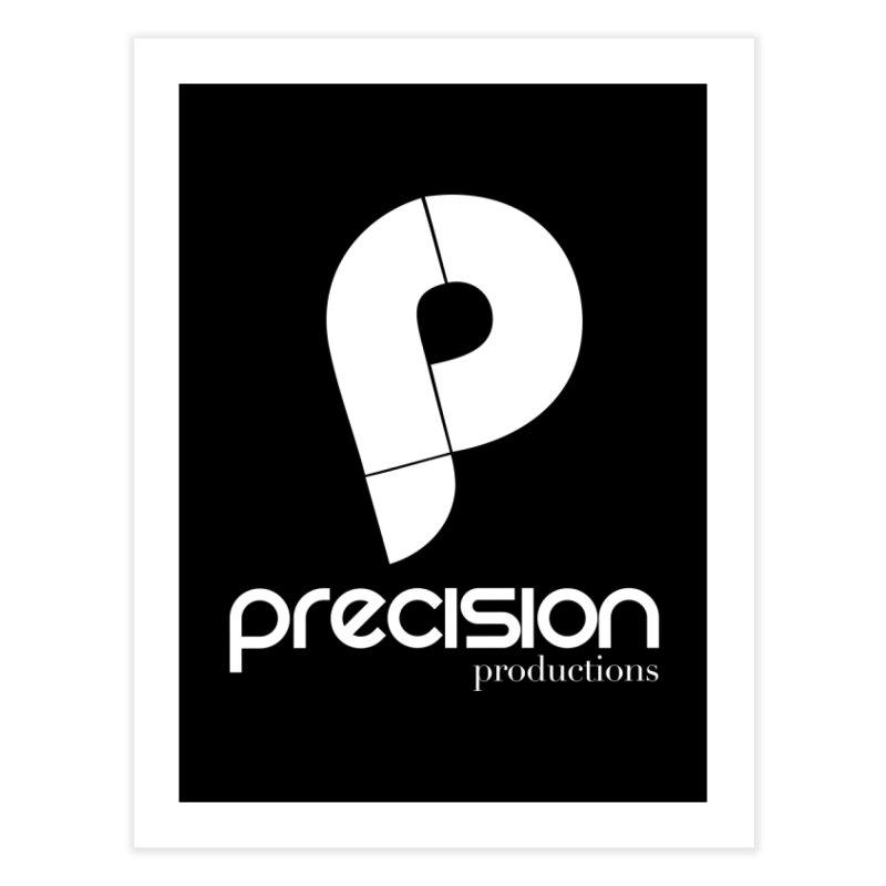 Precision P (white) Home Fine Art Print by Precision Productions Artiste Shop