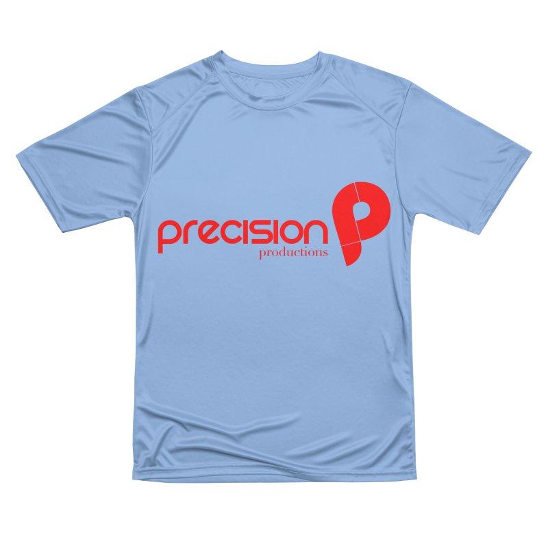 Precision Logo (Red) Men's T-Shirt by Precision Productions Artiste Shop